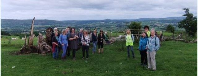 Rambling in the South Shropshire Hills